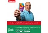 1 x 10.000 de euro, 35 x 100 euro bonus pe card, 1000 x 100 lei, 10 x valoarea totala a cumparaturilor efectuate in perioada concursului