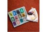 1 x tricou pictat + saculet imprimat plin cu fulgi de sare parfumati cu ulei esential + roll on touch de 6ml cu Balance - Doterra