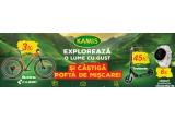 3 x bicicleta Cube Acid 2021 Ginger black, 45 x trotineta Black Mint 200 mmcu frana pe ghidon, 6 x smartwatch Garmin Vivoactive 4s