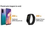 200 x smartphone OPPO Reno 5 Lite, 200 x brațara de fitness OPPO Band, 100 x 500 lei in contul Orange Money