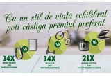 7 x brațara fitness Garmin Vivosport, 7 x eBook Reader Kindle Paperwhite, 7 x trotineta electrice Freewheel Rider Kool, 7 x bicicleta MTB Rich, 10 x aparat de gatit cu aburi Tefal, 11 x gratar electric Tefal