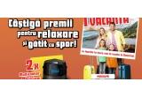 1 x voucher de vacanta la mare sau la munte in Romania de 2000 euro, 1 x gratar Bonesco, 2 x multicooker Philips, 4 x blender de mana Daewoo, 30 x pachet produse Defish