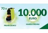 1 x 10.000 euro, 70 x espressor Nespresso Essenza Mini D30