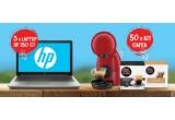 3 x Laptop HP 250 G7 Intel Core i3-1005G1, 50 x kit cafea compus din: aparat Piccolo XS + cutie capsule Nescafe Dolce Gusto Cortado + cutie capsule Nescafe Dolce Gusto Espresso Intensso