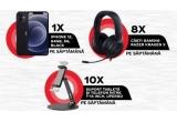 3 x Apple iPhone 12 64GB 5G, 24 x pereche caști Razer Kraken X, 30 x suport tableta + telefon intre 7-14 inch Upergo