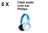 5 x pereche de caști audio pentru copii Over-Ear Philips TAKH402BL/00 bluetooth