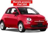 1 x mașina Fiat 500, 63 x Carte cu retete Galbani, 9 x Set oala pentru fiert paste