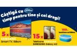 5 x televizor Samsung 43TU7172 108 cm Smart 4K Ultra HD LED, 15 x smartphone Samsung Galaxy A12, 100 x lunch-bok Siblou