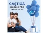 10 x pachet cu produse P&G pentru tine si casa