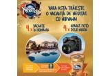 4 x voucher turistic de 9000 lei pentru o vacanta in Romania, 4 x aparat foto DSLR Nikon D7500
