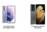 18 x smartphone Samsung Galaxy S21 5G, 3 x smartphone Samsung Galaxy S21 Ultra 5G