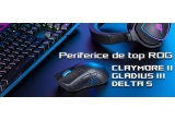 1 x tastatura mecanica modulara ROG Claymore II, 1 x pereche de caști de gaming ROG Delta S, 1 x mouse de gaming ROG Gladius III Wireless, 3 x baterie externa ZenPower  de 10050 mAh cu 2 porturi USB și incarcare prin USB-C