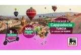 1 x vacanța in Cappadocia – Turcia in valoare de 5.000 euro, 3 x trotineta electrica Xiaomi Mi Pro 2, 100 x voucher Mega Image de 200 lei