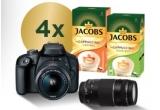 4 x aparat foto DSLR Canon EOS 400D BK SEE 18MP + obiectiv 18-55 DC + obiectiv 75-300 + cutie Jacobs Cappuccino Caramel + cutie Jacobs Cappuccino Hazelnut, 10 x consola de gaming Microsoft Xbox Series S 512 GB