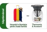 10 x vacanta in Romania pentru 4 persoane sau aparat de bucatarie Thermomix + accesorii la alegere, 70 x aspirator robot sau purificator de aer Philips la alegere, 560 x card cadou eMAG de 200 lei