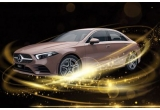 1 x mașina Mercedes-Benz A-Class 180, 60 x colier din aur galben Iona Pagoda Leaf, 90 x pereche caști audio wireless JBL Tune 225TWS white