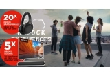 5 x Televizor Sony 138.8cm Smart Google TV 4K Ultra HD LED + SOUNDBAR Sony, 20 x pereche de casti Over the Ear Sony