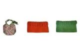 """o geanta, 2 x port farduri """"hand made""""<br />"""