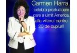 20 de persoane vor fi selectate de catre Carmen Harra pentru a le prezice viitorul<br />