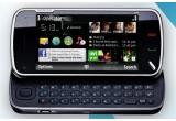 <p> un telefon Nokia N97<br /> </p>