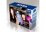25 seturi de produse NIVEA Straight & Easy (sampon, balsam si balsam modelator de styling)<br />