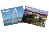 <p> Un voucher de doua persoane pentru un zbor dus-intors la Geneva (Elvetia) sau Nisa (Franta)<br /> </p>