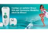 2 epilatoare Braun Silk-epil Xpressive Wet&amp;Dry<br />