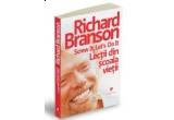 """Cartea de calatorii """"100 de minuni ale lumii"""" , Cartea """"Screw it, let`s do it – Lectii din scoala vietii"""" de Richard Branson, Cartea """"Tot ce ar trebui sa stii despre PR"""" de Anthony Davis, Cartea """"Era turbulentelor – Aventuri intr-o lume noua"""" de Alan Greenspan <br />"""