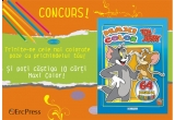 o carte de colorat Maxi Color cu Tom si Jerry<br />