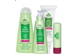 5 seturi de produse Gerovital Plant Stop Acnee (Gel spumant antimicrobian, Fluid antiseptic purificator, Baton corector si Crema ultra-activa)<br />