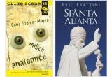 """<p> Cartea """"Indicii Anatomice"""", de Oana Stoica-Mujea, """"Cartea Sfanta Alianta"""" de Eric Frattini <br /> </p>"""
