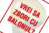 Un voucher de calatorie cu balonul pentru doua persoane<br />