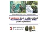 <p> 100 de pachete promotionale, 3 x tinuta completa pentru iarna, un sejur de o saptamana in TRANSILVANIA ARSENAL PARK<br /> </p>
