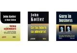 """Inima schimbarii"" de John Kotter si Dan Cohen,  ""Ce fac liderii cu adevarat"" de John Kotter, ""Guru in business"" de Des Dearlove si Stuart Crainer"
