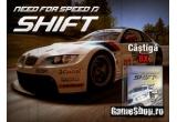 "8 x joc ""Need for Speed Shift"" (4 pentru PC, 2 pentru X-box si 2 pentru PS3) + jacheta NFS"