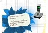 un telefon DECT de ultima generatie marca Brondi Max 2
