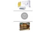 un weekend culinar in Italia, 46 x ceas unisex Emporio Armani, 736 x pachet Aperitivo Peroni pentru 4 persoane