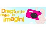 un aparat foto profesional: Olympus E520 Double Zoom Kit, Imprimanta foto compacta Canon Selphy CP-760, Rama foto digitala Transcend PF 710.
