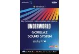 5 x invitatii simple la Underworld, Gorillaz Sound System si Dubfire