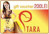 "Voucher in valoare de 200 RON pentru cumparaturi pe <a rel=""nofollow"" target=""_blank"" href=""http://www.TaraFashion.ro"">TaraFashion.ro</a><br />"