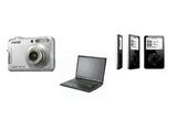 Laptop Fujitsu Siemens Esprimo V5515, Apple iPod video Black, Sony DSC-S 650, Intex MP4 Player de 1GB IT-MP41G, Toshiba DVD Player SD-270EKTE, 6 x MP3 Allfine M3710, 10 premii surpriza;<br />