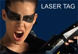 Doua partide de 20 de minute de laser tag<br />