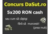 5 x 200 ron cash