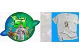 "10 x magneti de frigider, 10 x tricouri personalizate ""Planet 51"""
