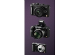 o camera foto digitala Lumix DMC-GF1,2 x  o camera foto digitala Lumix DMC-FZ38, o camera foto digitala DMC-ZX1