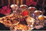 un meniu pentru doua persoane la restaurantul Agra Palace