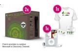 2 x Xbox 360 Elite, un pachet de produse Trilulilu format dintr-un tricou, o cana si un breloc Trilulilu, un IPOD NANO 4 GB