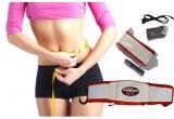 o centura pentru slabit si masaj anticelulitic Vibro Shape Professional, telecomanda, adaptor si cablu priza.