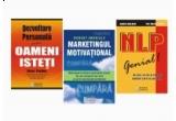 """2 x un pachet de trei carti: """"NLP – Genial!"""", """"Marketingul Motivational"""" si """"Dezvoltare personala pentru oameni isteti"""""""