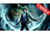 """o invitatie dubla la filmul """"Percy Jackson si Olimpienii: Hotul Fulgerului"""" + un pachet format dintr-un ceas, un pix si un tricou Percy Jackson, 2 x pachet constand in cate un pix, un tricou si o invitatie dubla la film, 2 x invitatie dubla la film"""